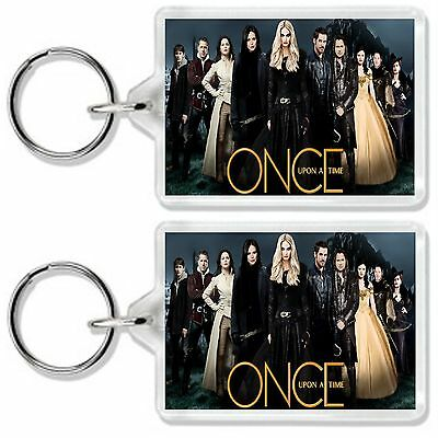 Once Upon A Time Season 5 Tv Show And Dvd Keyring Uk Seller