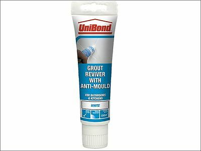 Unibond - Grout Reviver Floor & Wall Tube 125ml Ice White