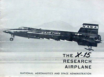 Avion The X-15 Research Airplane Catalogue Aviation