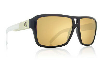 720-1873 Dragon Sunglasses The Jam Jet White With Gold Ionized Lens