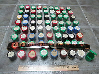 Lot of 72 Vintage Educational 35mm Photograph Film Strips 1960's 1970's 80's