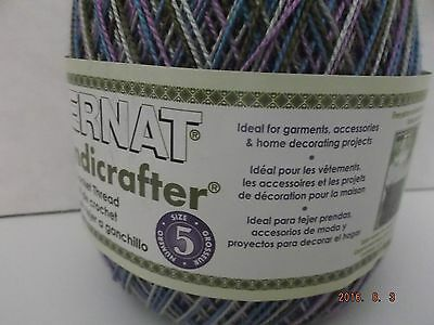 Bernat Handicrafter Crochet Thread Variegated Size 5 Urban 28