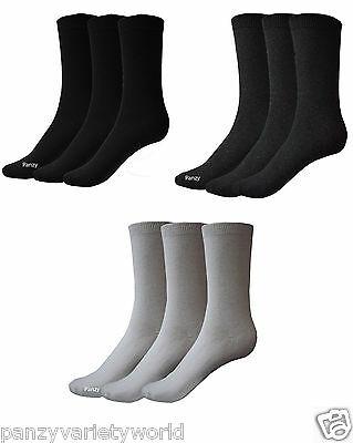Kids  Children Kids Plain Boys Girls Cotton Mix Ankle Socks Back To School