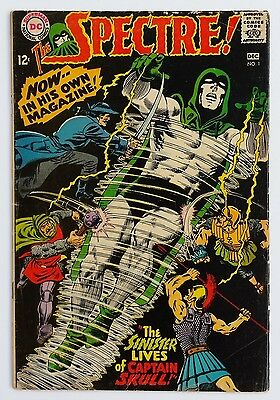 *KEY* THE SPECTRE #1 1967 *SEE PICS* 1st IN HIS OWN
