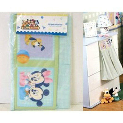 Disney Mickey Mouse Baby Diaper Stacker NWT