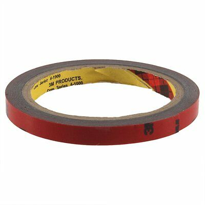 New 3M 10mm Car Auto Truck Acrylic Foam Double Sided Attachment Adhesive Tape TS