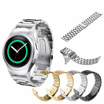 Stainless Steel Watch Band Strap For Samsung Galaxy 42mm Gear S2S3 Classic Sport