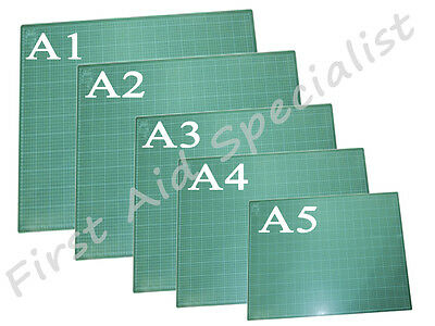 Professional Cutting Mat With Printed Grid Lines Craft Board Non Slip