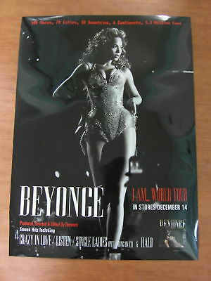 BEYONCE - I Am...World Tour [OFFICIAL] POSTER * NEW*