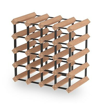 20 Bottle Timber Wine Rack - Fully Assembled & Delivered