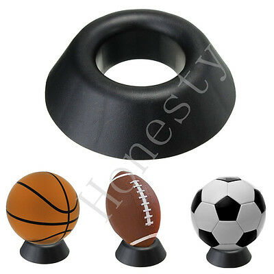 1PC Ball Stand Basketball Football Soccer Rugby Plastic Display Holder Ball Seat