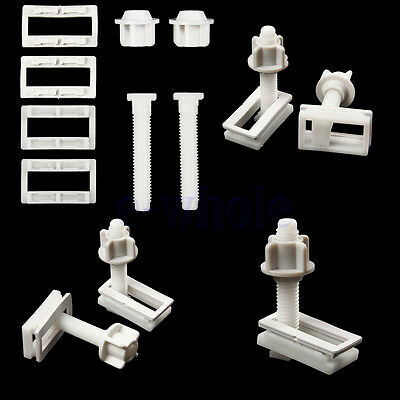 Toilet Seat Hinge Bolts Replacement Bolt Screw Fixing Fitting Kit Repair Tool WT