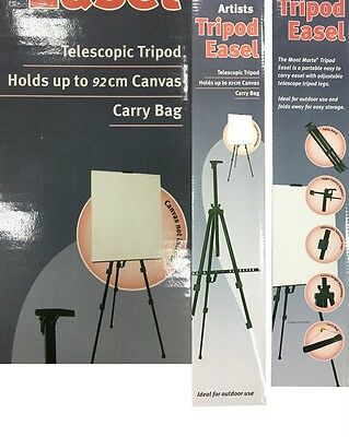 Mont Marte Tripod Easel Aluminium Artist Easel w Carry Bag Art Supply