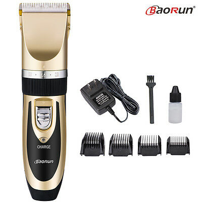 Professional Electric Hair Trimmer Clipper Men's Shaver Barber Haircut Machine