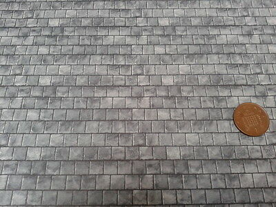 Dolls House 1:24th Scale Accessory Empire Slate Roofing Paper Sheet WP545S
