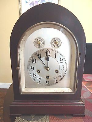 Antique Junghans German Nice Quality Chime Clock With A13 Movement