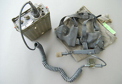 Radiotelephone Fse 38/58 Transceiver + Headset Radio Station Telephone German