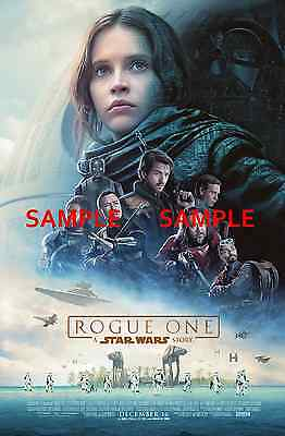 """Star Wars - Rogue One ( 11"""" x 17"""" ) Movie Collector's Poster Print (T3) - B2G1F"""