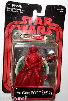 Star Wars Darth Vader 2005 holiday Edition 3.75 Figure