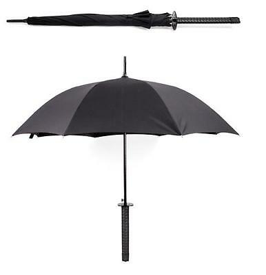 Kikkerland Samurai Umbrella Ninja  Sword Nerd Great Gift Large Umbrella