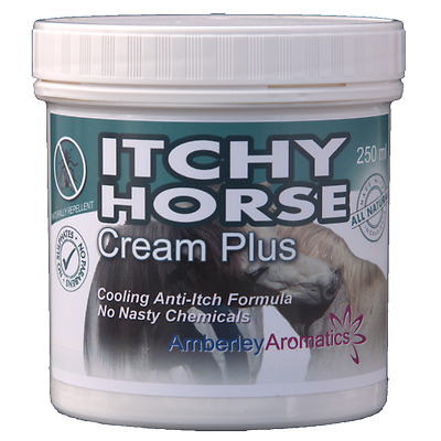 ITCHY HORSE CREAM PLUS - 250g - Stops Itching Fast!! Sweet Itch & Fly Bites