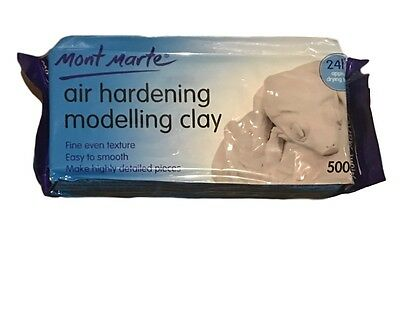 Mont Marte Air Hardening Modelling Clay White 2Kg Wholesale Craft Arts Supply