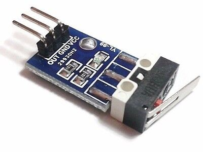 Robot Car Crash Collision Sensor Limit Switch Module For Arduino