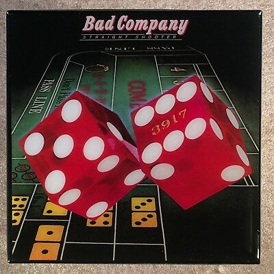 BAD COMPANY Straight Shooter Record Cover Art Ceramic Tile Coaster
