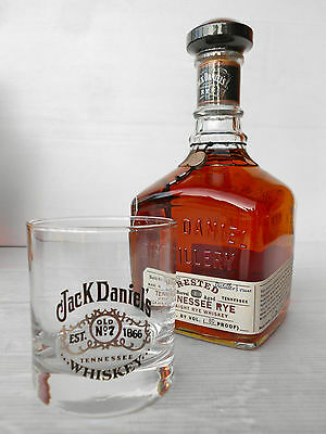 Jack Daniels Rested Tennessee Rye Whiskey 750ml 80 Proof With Bonus Glass!!!!