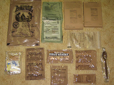 US ARMY MRE EPA MEAL READY TO EAT MENÜ 1 bis 24  09 / 2019 !!!