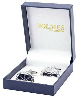 Silver Cricket Stump /& Ball Cufflinks With Gift Pouch Cricketer The Ashes New
