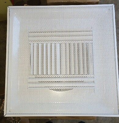 "Price HVAC Air Diffuser Vent Re  24 x 24 x 12"" Neck (NEW) 12"""