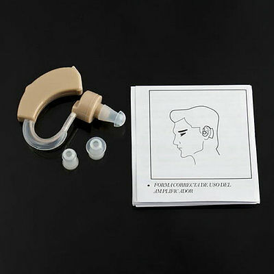 Adjustable Ear Sound Amplifier Volume Tone Listen Hearing Assistance Aid Kit YS