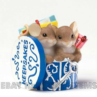 All My Best Memories Include You CHARMING TAILS Keepsakes Box Mice MEMBERS ONLY