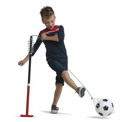 New Deluxe Totem Soccer Trainer Outdoor Sports Game Set Football on String Pole