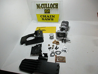 NEW McCulloch Pro Mac Super 610 Eager Beaver 3.7 Chainsaw Cylinder Engine 650.
