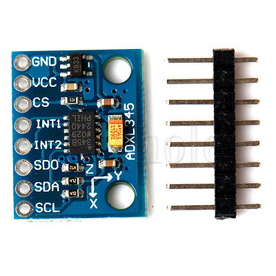 ADXL345 3-Axis Digital Acceleration of Gravity Tilt Module GY-291 for Arduino WS