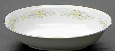 """10 1/2"""" x 6 3/4"""" Oval Vegetable Bowl CAROLYN by CROWN VICTORIA ~  Made in Japan"""