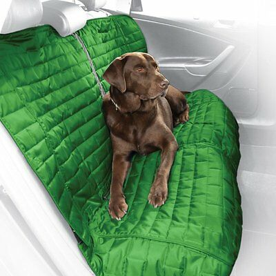 Kurgo Water Resistant Loft Bench Seat Cover for Dogs, Green / Grey - Lifetime Wa