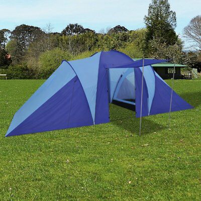# 6 Person Blue Outdoor Camping Tent Instant Pop Up Hiking Shelter Lightweight