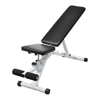 # New Adjustable Weight Bench Flat Incline Decline Home Gym Exercise Fitness Sit