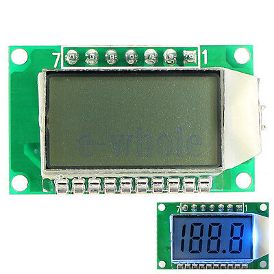 3.5-Digit 7 Segment LCD Display Module With Blue Backlight for Arduino Board WS