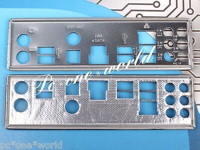 For Asus M4A79 Deluxe , P6T Se Motherboard Original I/o Shiled Backpanel