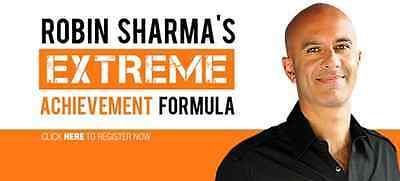 Extreme Achievement Formula by Robin Sharma  -video course-