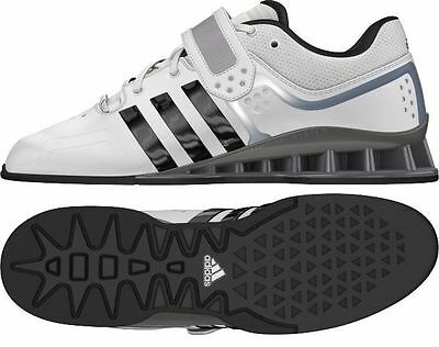 Adidas AdiPower Weight Lifting Shoes Professional Amatuer White