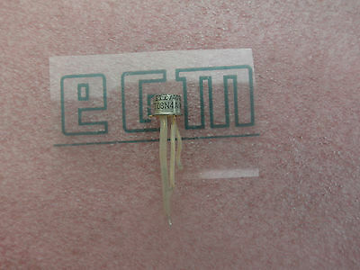 1x  T08N4A00 IGT10mA 50V TO39 Metal   ITT (Lager K284)