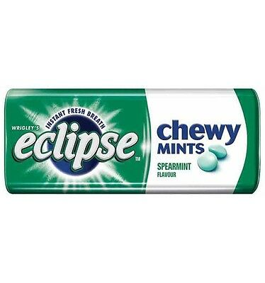Wrigley Eclipse Chewy Spearmint Mints 27g x 20