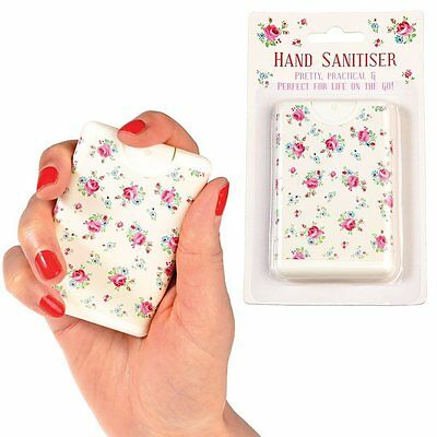 dotcomgiftshop LA PETITE ROSE POCKET SIZE TRAVEL HAND SANITISER