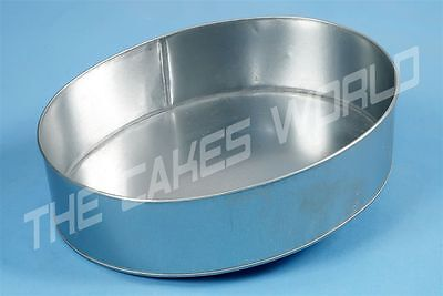 Single Oval Cake Tins In Various Sizes Birthday and Wedding