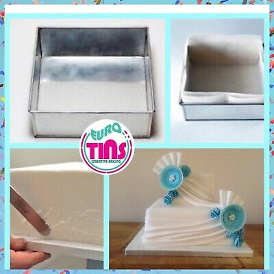 Professional Square Cake Baking Tin on Sale for making birthday anniversary cake